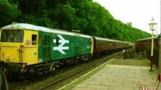 Market Bosworth United Kingdom  City pictures : Battlefield Line Railway,Shackerstone,Market Bosworth,Shenton,HD,2012,England.