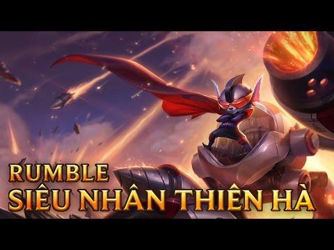 Rumble Siêu Nhân Thiên Hà