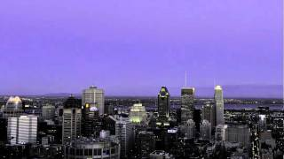 My First Time-Lapse Video: Montreal from Mont-Royal (10.10.10)