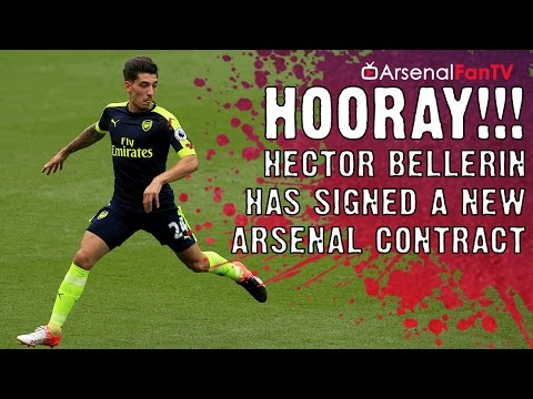 HOORAY!!! Hector Bellerin Has Signed A New Arsenal Contract