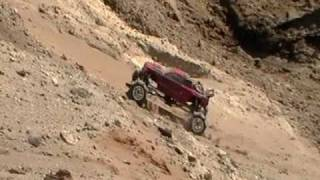 RC Formula Offroad With The Sand King&new Chevy Silverado Baja Body (HPI Wheely King)