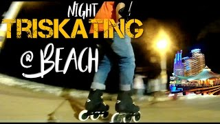 Hai Keluarga Muda,Akhirnya bisa tayang juga episode ini setelah ketunda beberapa saat krn lg fokus sama project lain heuheu,,,Kali ini kita city night skate-inline skating pakai 3 wheels Rollerblade Metroblade bareng Ryu di area pantai Ancol. Dengan boardwalk dengan permukaan yang mulus dan cukup lebar sepanjang pantai sangat asyik buat main triskating, kebetulan malam minggu ini tidak terlalu packed dengan local tourist.its definitely recommended banget deh bagi Keluarga muda yang pengen rollin sambil ngajak keluarga ke theme park yang tersebar di Pantai Ancol.For those whose also has nice spot in Jakarta for inline skating, please share on the comment below so we could rollin n hv fun.And also Like, Share, and subscribe our channel for more fun rollin videos. ThxSong credits: Rolipso – Sway→ Rolipso:https://soundcloud.com/rolipsohttps://www.facebook.com/rolipso/https://www.youtube.com/channel/UC7zp...Evalk - Lavender Town→ Evalk:https://soundcloud.com/evalkmusichttps://www.facebook.com/evalkofficial/https://twitter.com/evalkmusicSee also my vids; Triskating di Paris Van Java https://www.youtube.com/watch?v=NYLGG6XKVRk&t=91sCara mengayuh mundur inline skate-Triskating @ Colosseum https://www.youtube.com/watch?v=ezzi93NoVeMTriskating on 3x110WD Metroblade in the Parkhttps://www.youtube.com/watch?v=zpslvMSTwj8Check out 3WD  Triskates Rollerblade Metroblade in this videohttps://www.youtube.com/watch?v=4ZjYqgsVGL8Unboxing & review of Triskate from Rollerblade Metroblade;https://www.youtube.com/watch?v=gSVmx9GOxPgFor those whose looking for learn inline skating for kids or beginner ;https://www.youtube.com/watch?v=ZQZC-a13NS4For unboxing & review Lynx Gladiator entry level urban inline skates check this video below https://www.youtube.com/watch?v=bdq2_ZE-Zgs Untuk Performance Test & Review of Lynx Gladiator-entry level urban inline skates check this out;https://www.youtube.com/watch?v=9zi1N6uyAho
