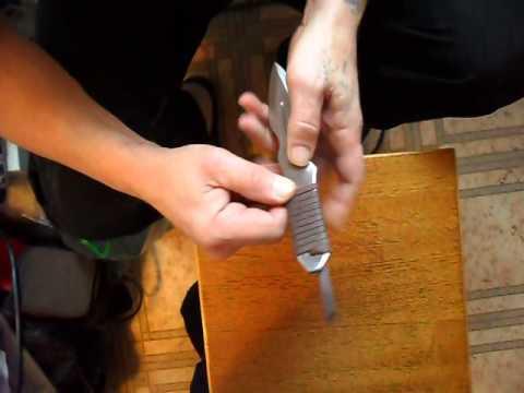 Как сделать ручку для метательного ножа