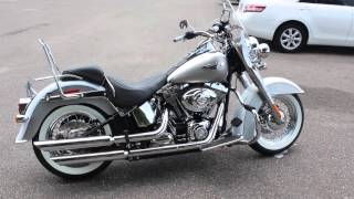 1. SOLD! 2008 Harley Davidson Softail Deluxe Walk Around And Idle Review