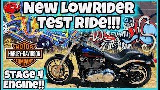 9. Harley-Davidson Low Rider Test Ride - STAGE 4 KIT SCREAMING EAGLE