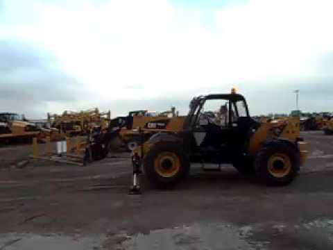 CATERPILLAR TELEHANDLER TH514C equipment video UuHYe-ft_So