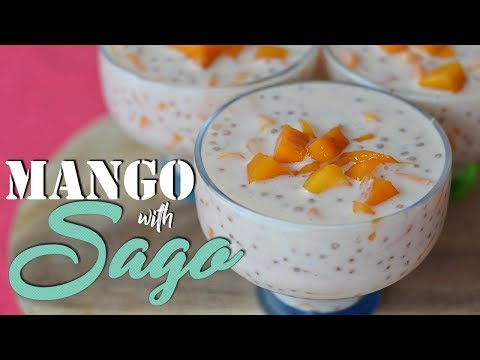 Mango With SAGO Dessert | It's More Fun In The Kitchen