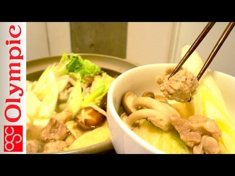 鍋が美味しい季節!ちゃんこ鍋で栄養満点!!!