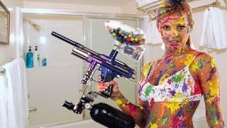 This Crazy Girl Shoots Her Boyfriend In The Shower With A Paintball Gun