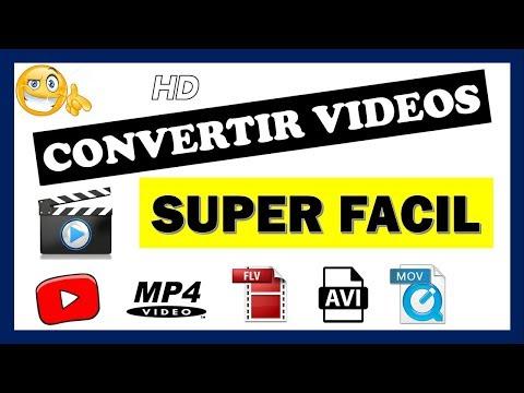 Como Convertir Vídeos A Cualquier Formato 3gp Mp4 Avi Vob Etc