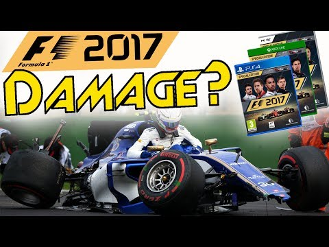 F1 2017 News - DAMAGE MODEL, ENGINE MANAGEMENT & NEW PIT STOP FEATURES