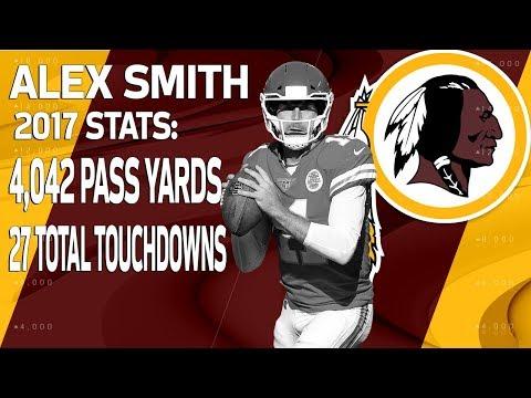 Video: New Redskins QB Alex Smith's 2017 Highlights |