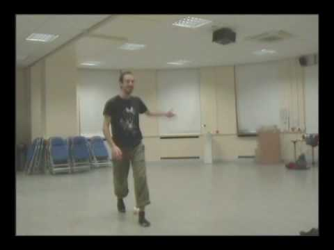 Dan Cooper - Dan Cooper, flowy contact and toss juggler, runs through a routine in practice. This is close to the act he performed for the first time at the Leeds jugglin...