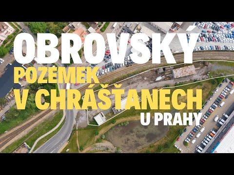 Video Komerční pozemek Chrášťany u Prahy