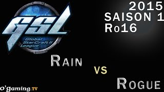GSL 2015 - Code S : Ro16 - Groupe C - Match 1