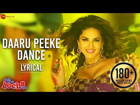 Daaru Peeke Dance Lyrical Video | Kuch Kuch Locha Hai | Sunny Leone & Ram Kapoor,