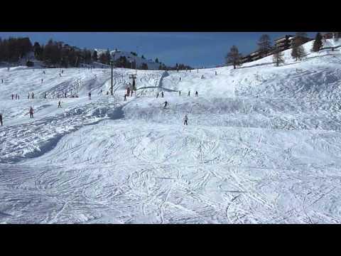 Skiing in Veysonnaz - ©Veysonnaz Chalets