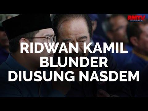 Ridwan Kamil Blunder Diusung Nasdem