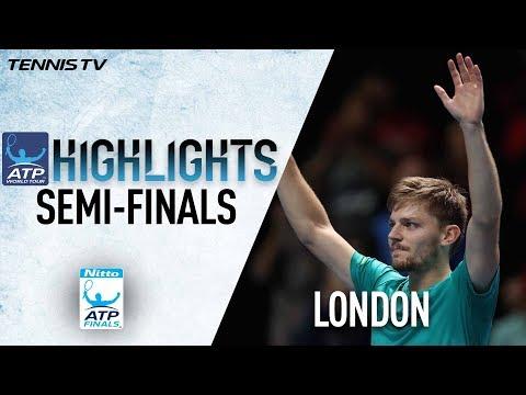 ATP年終賽 高芬爆冷擊敗費德瑞挺進決賽[影]