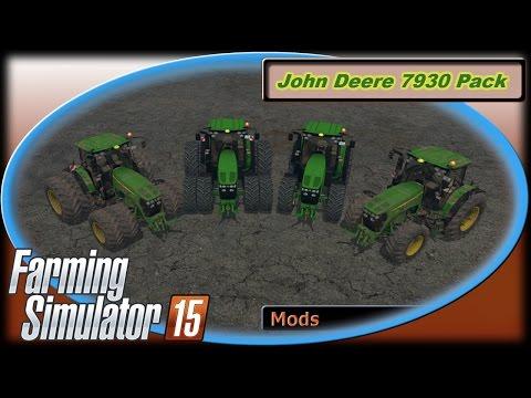 John Deere 7930 Pack v2.0