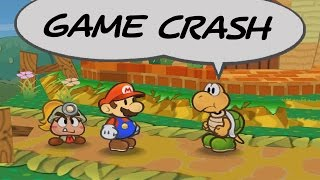 It's about time I covered a game crash in Paper Mario: The Thousand-Year Door! This was found April 2, 2017, and was figured out even more recently. Turns out the game retrieves information from the previous NPC interaction to determine when to play Mario's greeting animations. This normally works just fine, but there's a certain cutscene in Petalburg that is flawed. A game crash can be performed without doing any other glitches, as explained by the step-by-step address process covered in the video.I should mention, for the Hazard Respawn Glitch, it technically takes 2 frames to update the pointer, meaning Mario has to jump the first possible frame, before this happens. Was not sure if that was made clear in the explanation.Special thanks to Zephiles for helping explain this one, you can find him over at https://twitter.com/Zephiles_Also, shoutouts to Almo, the Paper Mario World Champ for the livestream footage. You'll find him most active on Twitch: https://twitch.tv/almoliciousSolidifiedGaming, Sjorec, and Cinealma are active TTYD speedrunning community members. You can find them here:• SolidifiedGaming: https://www.youtube.com/user/SolidifiedGaming• Sjorec: https://www.youtube.com/channel/UCkU3KswUjKEYZP-0LBCtong• Cinealma: https://www.youtube.com/user/cyberiancheeseheadIf you'd like to stay updated, check out my Facebook, Twitter & Twitch:• Facebook: https://www.facebook.com/Stryder7x• Twitter: https://twitter.com/Stryder7x• Twitch: https://twitch.tv/Stryder7xVideo intro, outro, and thumbnail designed by TheSneakySpy:• YouTube: https://www.youtube.com/user/TheSneakySpyI have a license to use Nintendo's content in this video through the Nintendo Creators Program. This video is not sponsored or endorsed by Nintendo, but any advertising revenue from this video will be shared with Nintendo.
