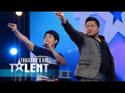 Thailand's Got Talent Season4-4D Audition EP3 4/6