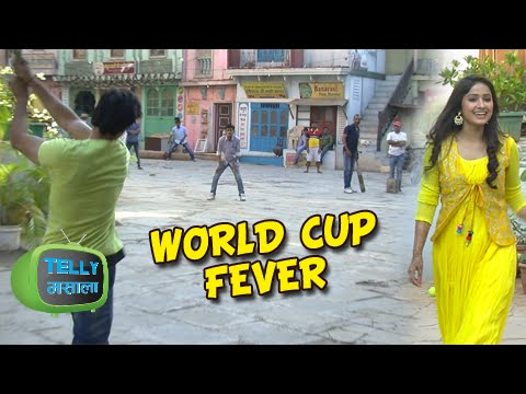 LD Radha Cricket Lover | World Cup Fever On The Se