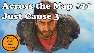 Across the Map #21: Just Cause 3 A walk across Medici map timelapse