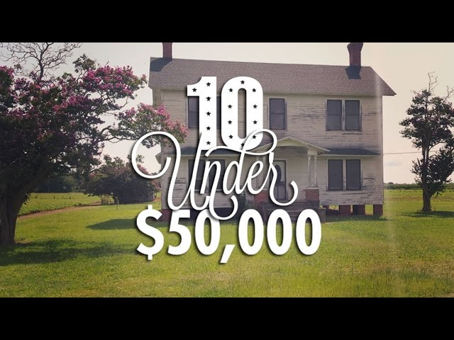 10 ultra cheap fixer upper houses for sale for under 50