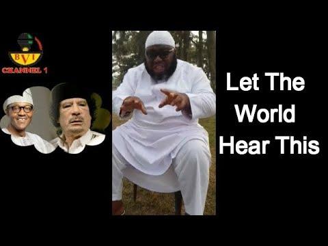 My Deep Secret Encounter With Buhari & Gaddafi  - Asari Dokubo Explodes