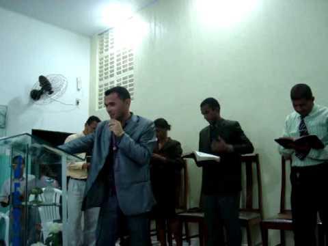 Cantor Marlon Araújo, em Maceió/AL Igreja Pentecostal Rosa de Saron parte 02