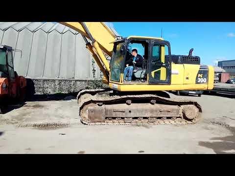 KOMATSU EXCAVADORAS DE CADENAS PC300-8 equipment video UuX4hoP5Mvw