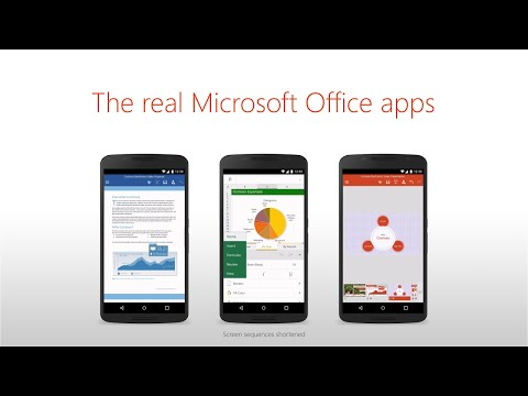 Microsoft moves closer to cross platform domination with launch of office apps for android phones - Office apps for android free ...