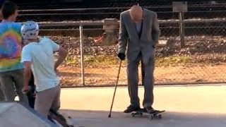 Download Video Grandpa Pranks People at Skate Park! MP3 3GP MP4