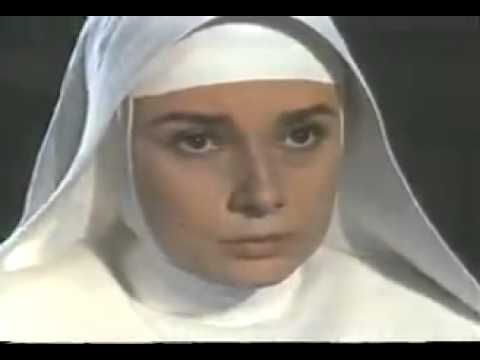nun - Audrey Hepburn as Sister Luke Audrey Hepburn's a film and fashion icon. Most beautiful woman of all time. http://prop-replica.weebly.com/1/post/2012/11/audre...