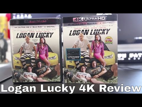 Logan Lucky 4K Blu-Ray Review