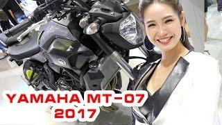 7. Yamaha MT-07 (FZ-07) ABS 2017 Review ▶ �ánh giá naked-bike với kiểu dáng mạnh mẽ, cơ bắp