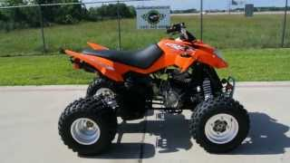 8. On Sale $3,699: 2013 Arctic Cat DVX300 Automatic Transmission Sport Quad