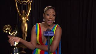 70th Emmys Thank You Cam: Tiffany Haddish From Saturday Night Live