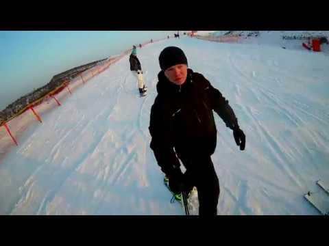 Camera Eken H9R and Snowboard Raven test
