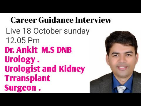 UROLOGY CAREER . INTERVIEW OF HIGHLY SUCCESSFUL UROLOGIST .