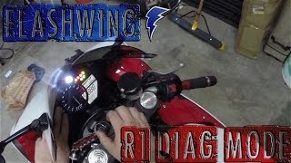 10. How to Use Yamaha R1 Diagnostic Mode 2009 - 2014