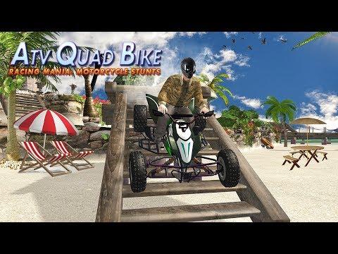 ATV Beach Quad Bike Racing Mania Motorcycle Stunts