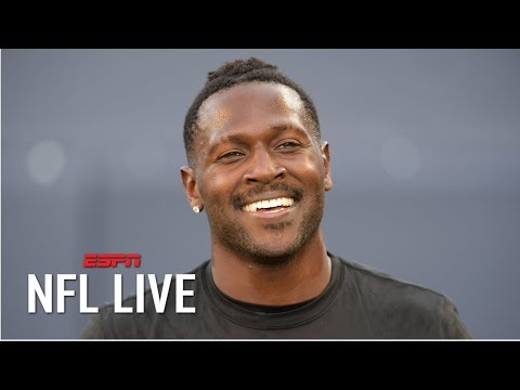 Video: Antonio Brown will play for the Raiders in Week 1, Jon Gruden says | NFL Live
