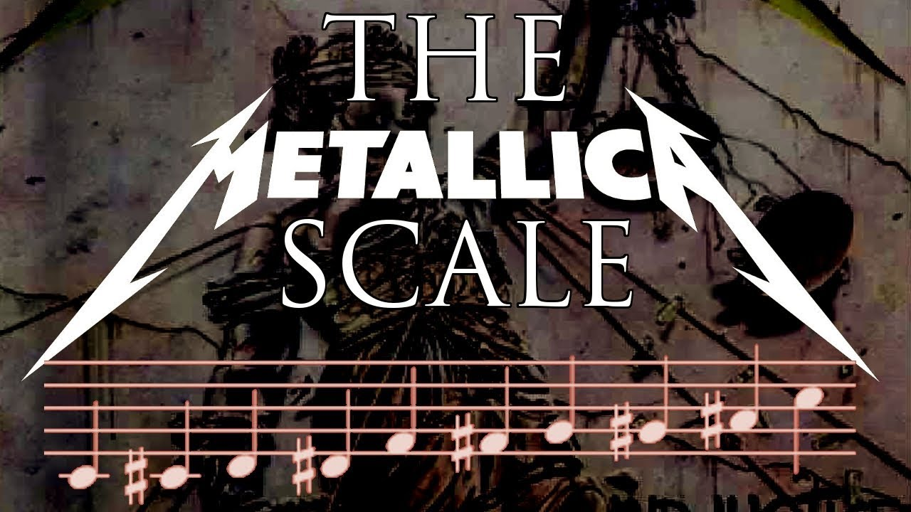 How To Write Metal Riffs using the METALLICA SCALE – Composition / Guitar Lesson