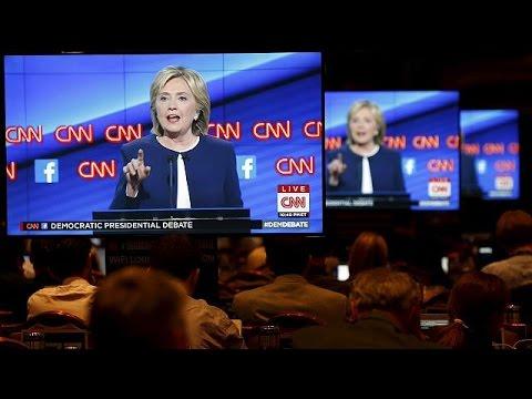 ΗΠΑ: Κλίντον και Σάντερς κυρίαρχοι του ντιμπέιτ των Δημοκρατικών