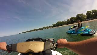 7. 75 Mile Ride on the SeaDoo's: 2012 GTX S 155 & 2016 GTI 130