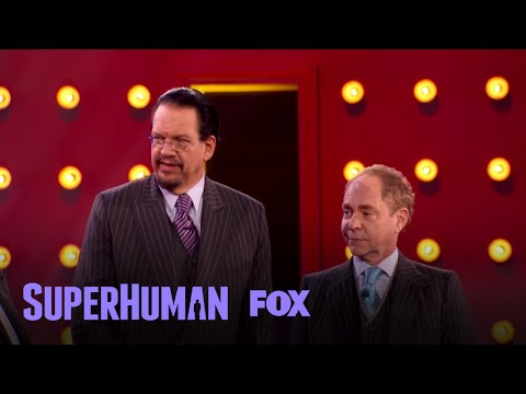 Penn & Teller's Memorization Act | Season 1 Ep. 4 | SUPERHUMAN