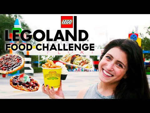 Ultimate LEGOLAND Food Challenge Trying All Of The Park Treats