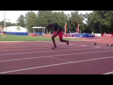 ガトリン選手に学ぶ、爆発的加速を生み出す膝の使い方!